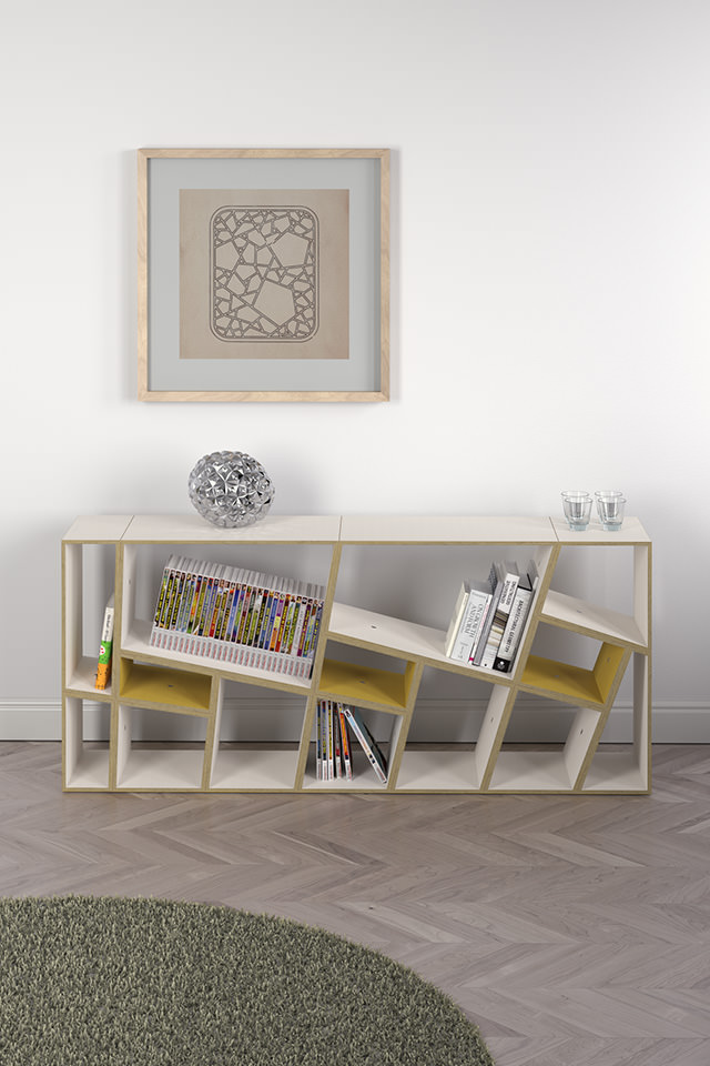 Design Chinese Lattice Fachwerk Framework Korsvirke Regal Shelf Hylla  Raumteiler Room Divider Rumsdelar Sperrholz Plywood