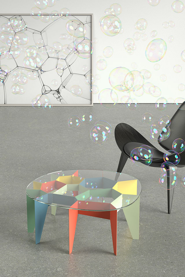 ... Design Voronoi Zelle Cell # Fachwerk Framework Korsvirke Tisch Table  Bord ...